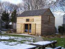 Post and Beam Barn Door