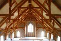 Beautiful Timber Church Ceilings