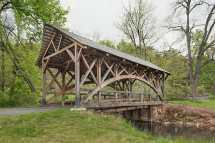 Rich Bridge Custom Covered Rough Sawn Red Oak