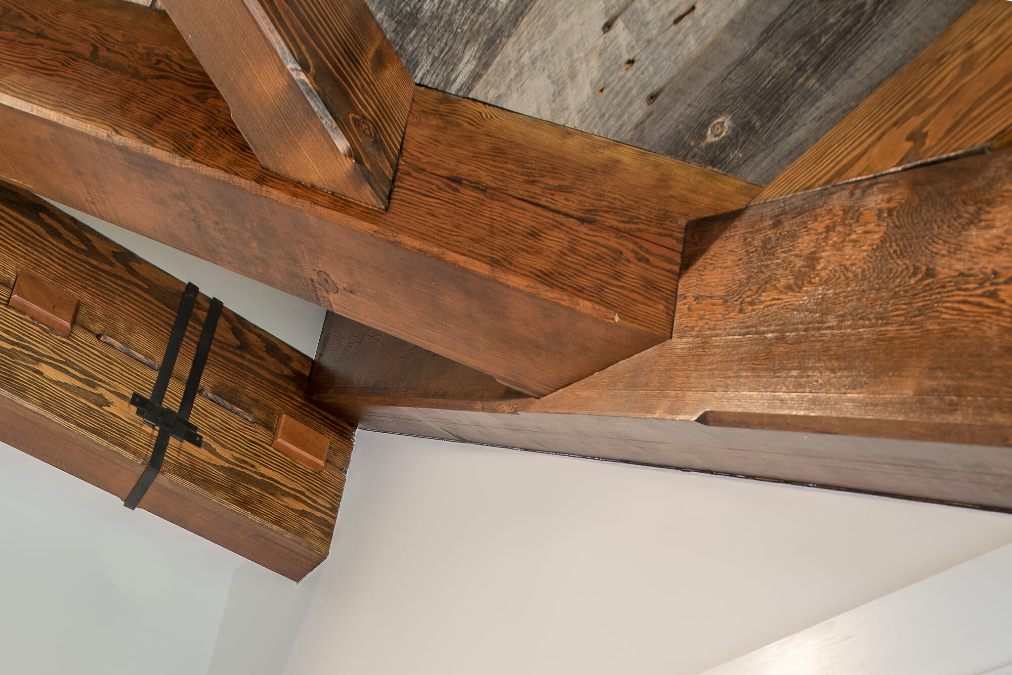 Barn Home With A Douglas Fir Timber Frame
