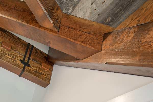 Barn Home With Douglas Fir Timber Frame