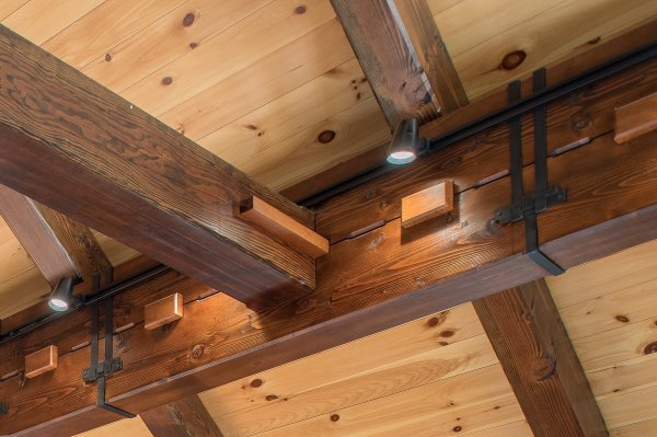 Barn Home With Douglas Fir Timber Frame