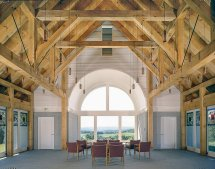 Post And Beam Chapel Vermont Timber Works