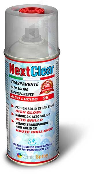 bomboletta nextclear vernice spray trasparente lucido