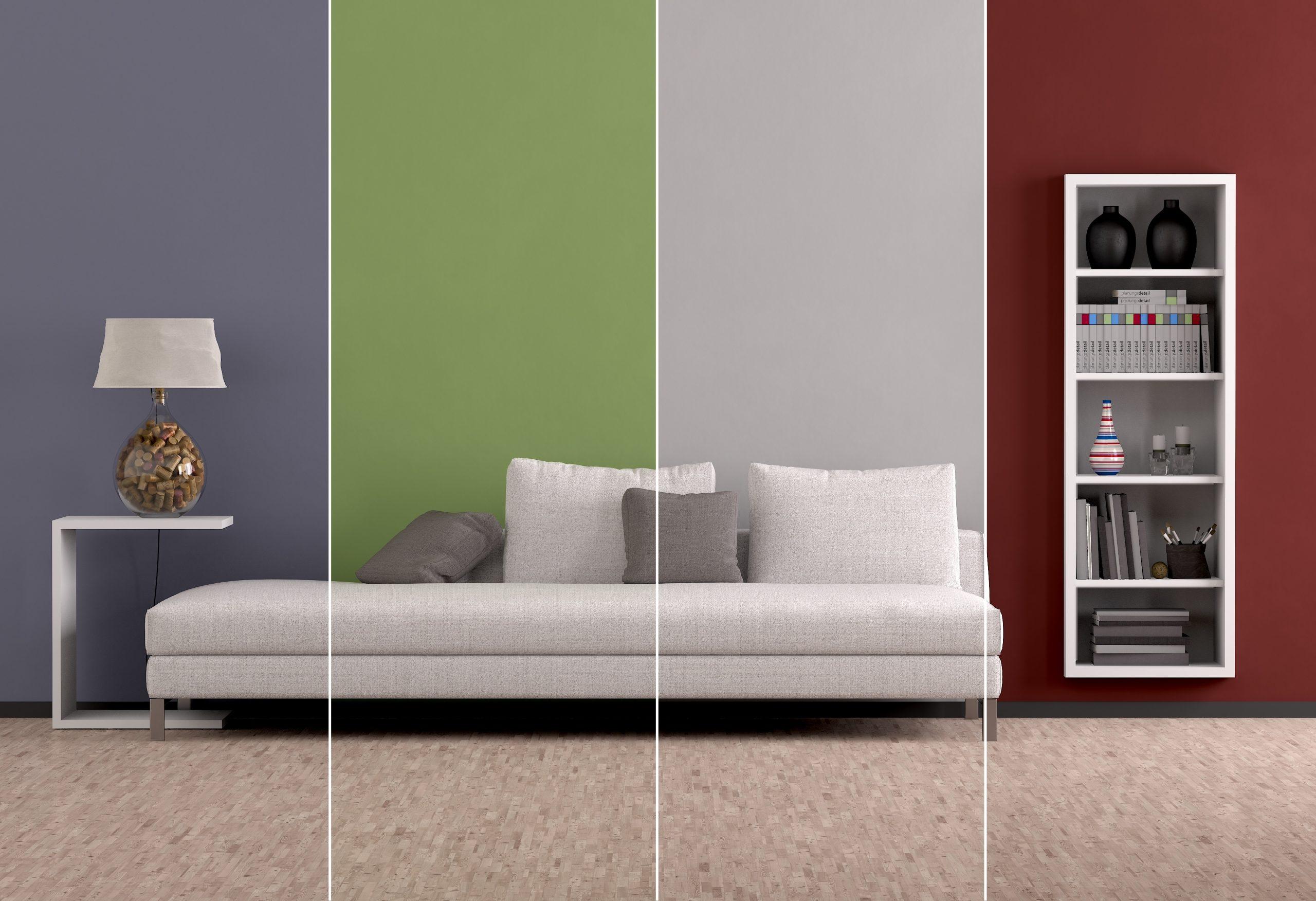 Quali tinte di colori scegliere per tinteggiare il soggiorno? Come Ingrandire Una Stanza Con I Colori