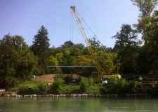 Le Rhône (1/2): Vernier aménage le lieu-dit «Au-Moulin»