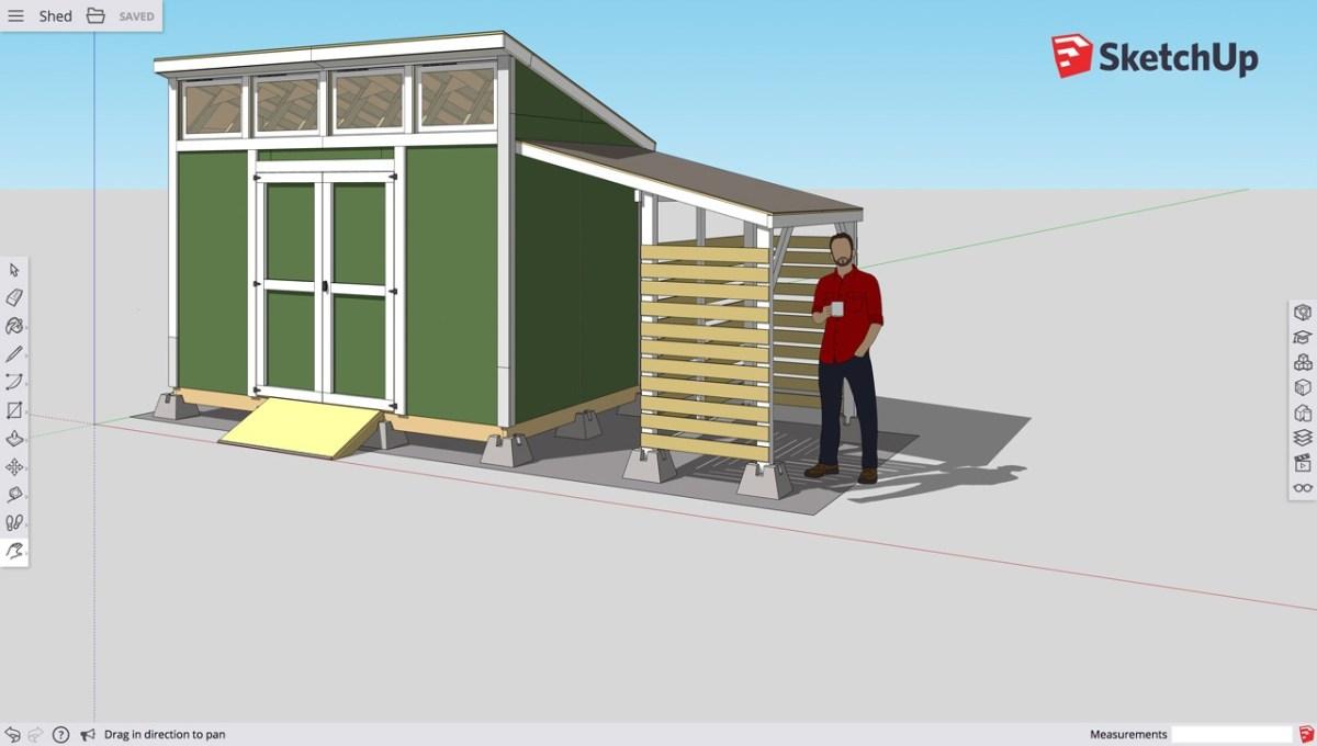 SketchUp Free: eenvoudig complexe 3D ontwerpen maken