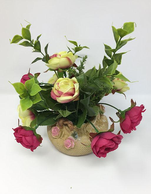 Lovely Christmas Gift Best Gif Home Decor Vase Unique Decorative Flower Vase Perfect Birthday Gift Face Flower Vase Nice Flower Vase