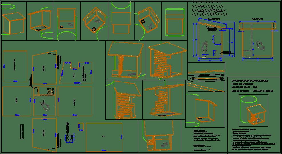 Plan Maison Pour Ecureuil