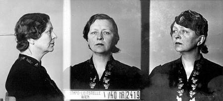 Gestapo-foto van Maria Gijsbertha Hendrika Heuff