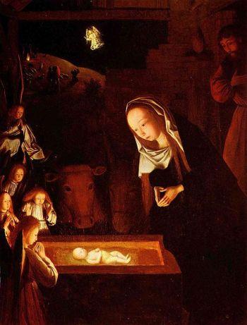 Geertgen tot Sint Jans: De geboorte van Christus (ca.1490)