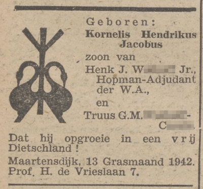 De Zwarte Soldaat, 17 april 1942