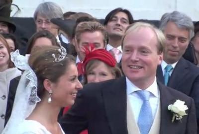 Carlos en Annemarie bij hun huwelijk