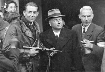 Anton Mussert gearresteerd op 7 mei 1945