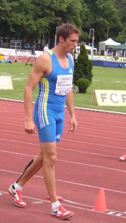 De Belgische atleet Frédéric Xhonneux