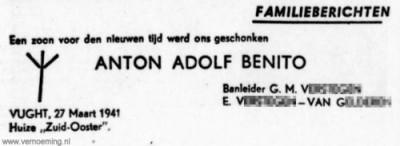 Anton Adolf Benito
