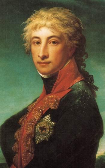 De eerste Louis Ferdinand (1772-1806) door Jean-Laurent Mosnier (1799)