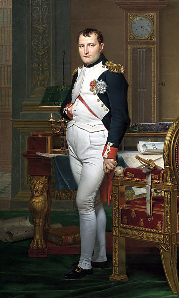Napoleon door Jacques-Louis David (1812)