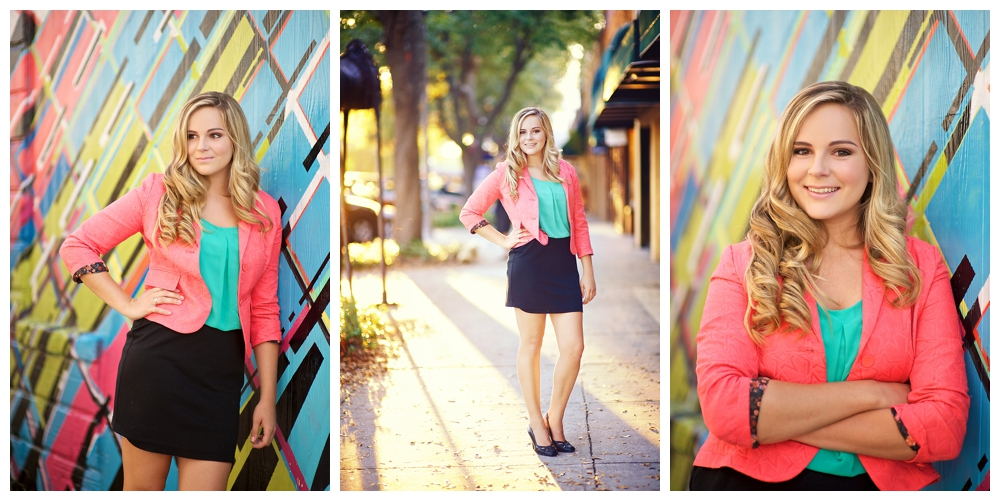 Downtown St Petersburg Senior portraits by Vernon Photography, Inc