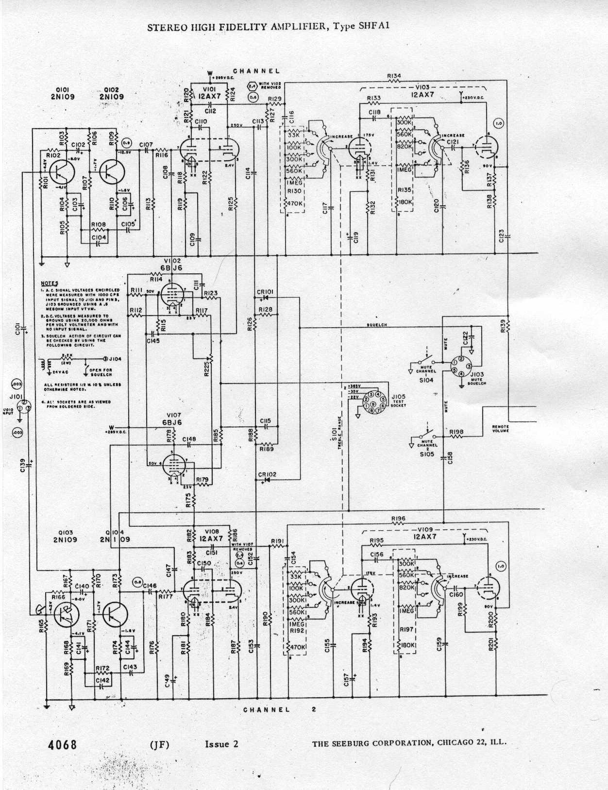 Jukebox List Seeburg 222 Amp