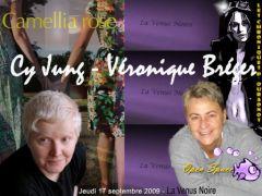 Cy Jung et Véronique Bréger à La Vénus Noire
