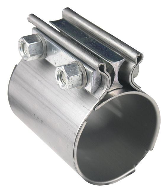 torca coupler butt joint sleeve exhaust