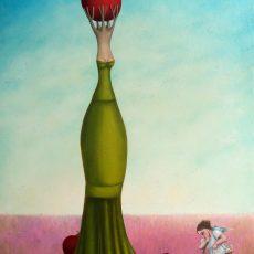 "Mis pecados 33x22"" acrylic - Oil on canvas  2013"