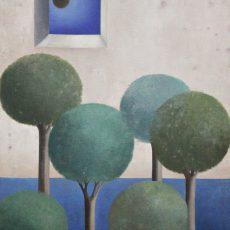 "The Window 30x20"" Oil on canvas, 2005"