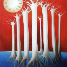 "Beliefs 50x40"" Oil on canvas, 2005  SOLD"