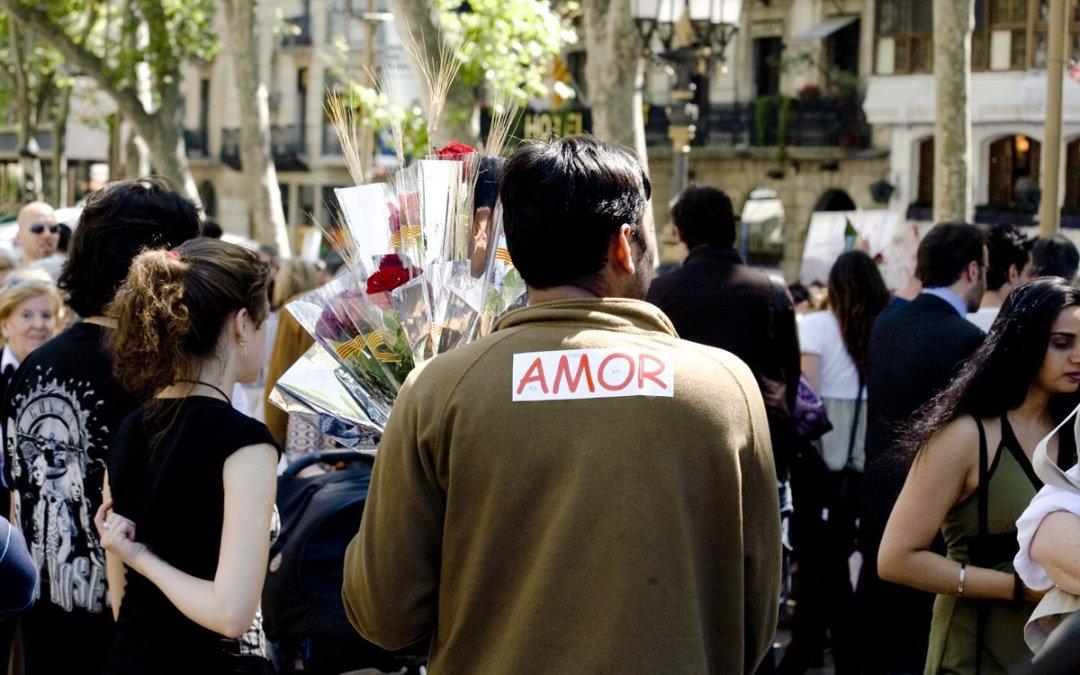 Sant Jordi: amor y rosas