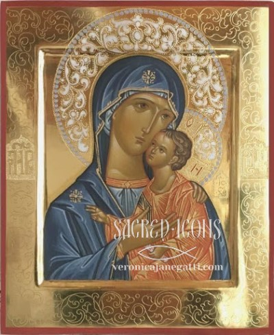 Mother of God of Tenderness, 2017.