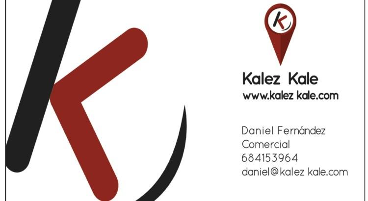 tarjeta visita Kalez Kale