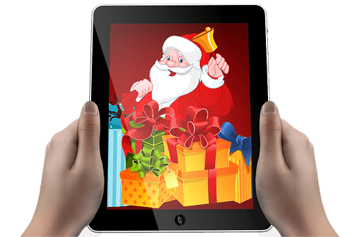 Christmas is an ebook