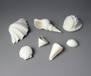 Porcelain shell set, Veronica Wilton
