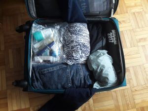 Conference travel with a carry-on: add smaller items
