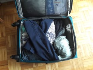 Conference travel with a carry-on: leave a bit of space