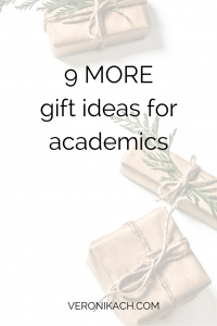 9 more gift ideas for academics