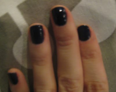"""NOTD: OPI's """"Sapphire in the Snow""""  & Ivanka Trump Ties the Knot"""