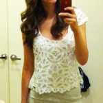 OOTD: Friday Edition- Gilly Hicks Lace Top Goes Casual