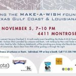 Houston Gals: Event Alert for Make-A-Wish Foundation