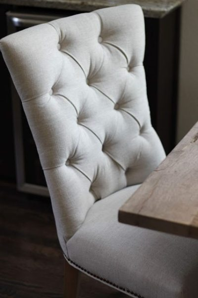 Tufted Dining Chairs For the Win