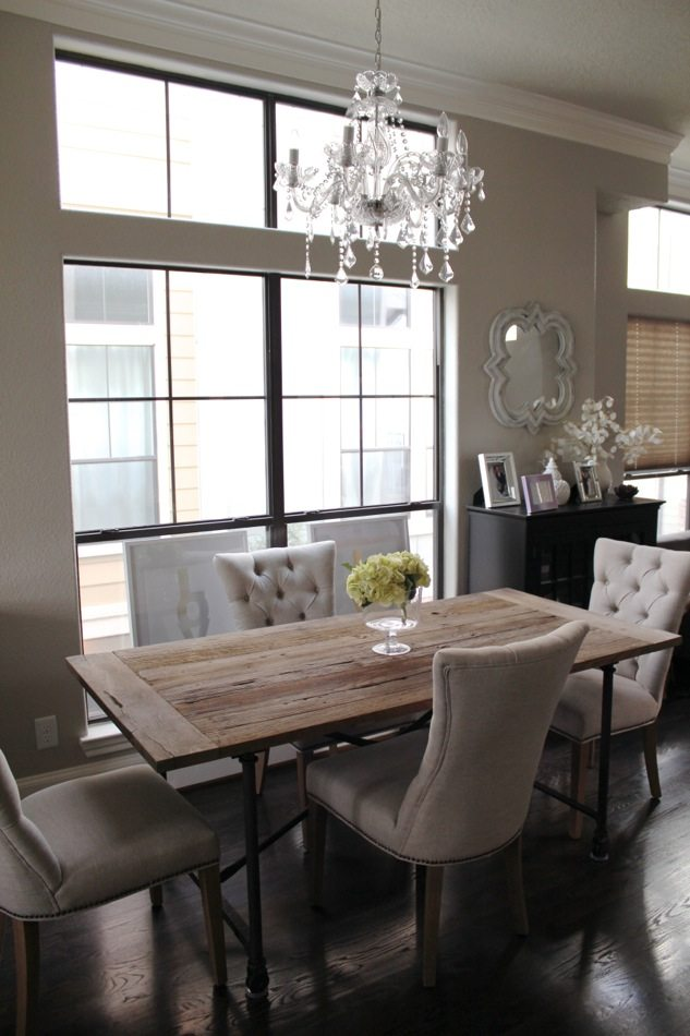home updates: restoration hardware curtains for the kitchen
