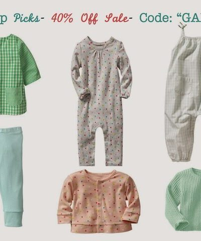 Baby Gap 40% Off Promo Picks