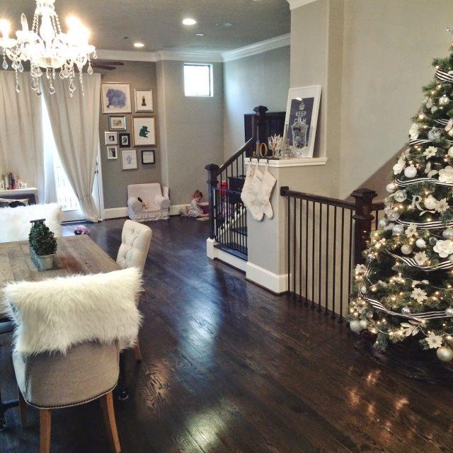 Our Home At Christmas Veronika S Blushing