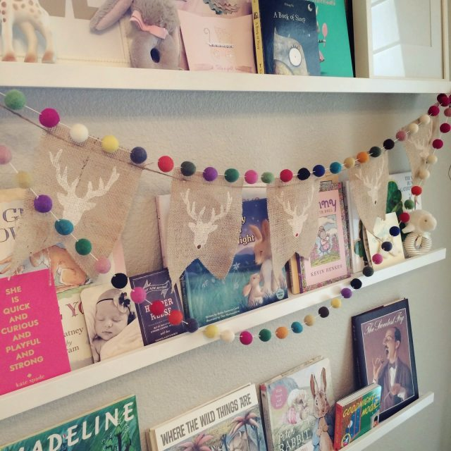 Veronika S Blushing Harper S Nursery Updated: Our Home, At Christmas