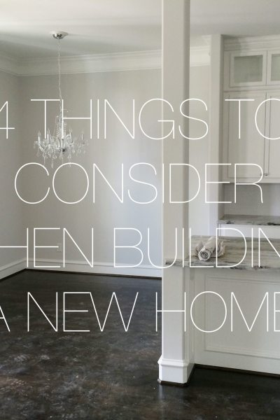 Four Tips When You're Building a New Home