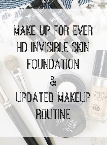 Make Up For Ever HD Invisible Cover Foundation Review