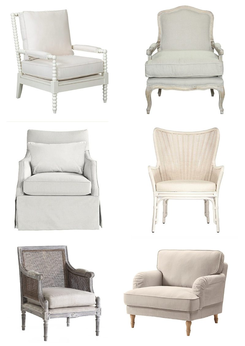 Living Room: Accent Chairs & Updates - Veronika\'s Blushing