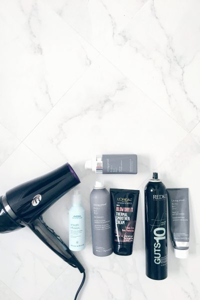 Updated Hair Routine: Washing & Styling + Mini Review of T3's Featherweight Luxe 2i Hair Dryer
