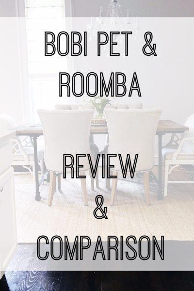 bObi Pet & Roomba Vacuum Review & Comparison